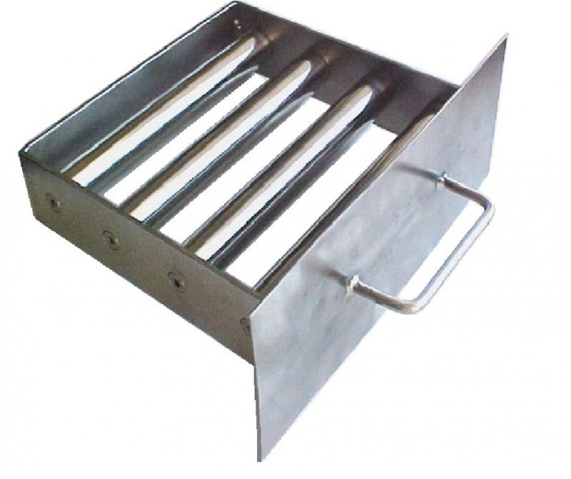 Grade magnética para extrusoras